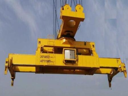河北旋转滑轮式吊具-供应新乡划算的滑轮式旋转伸缩集装箱吊具