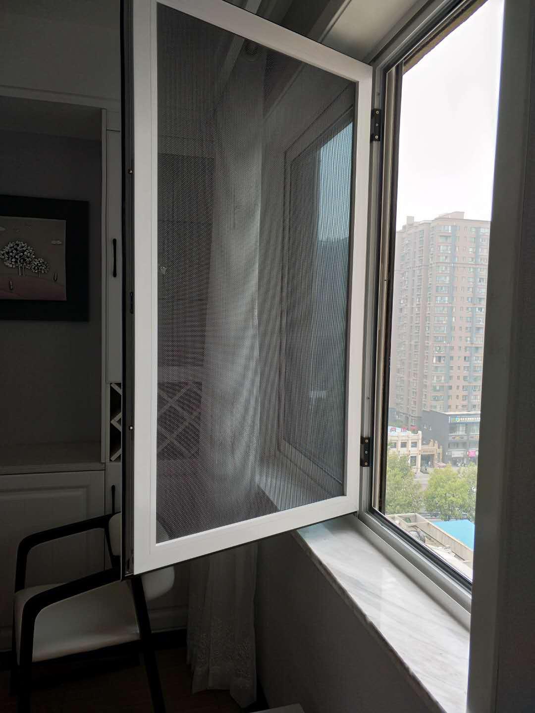 戴腾建材物超所值的防盗纱窗新品上市——西安金刚网纱窗