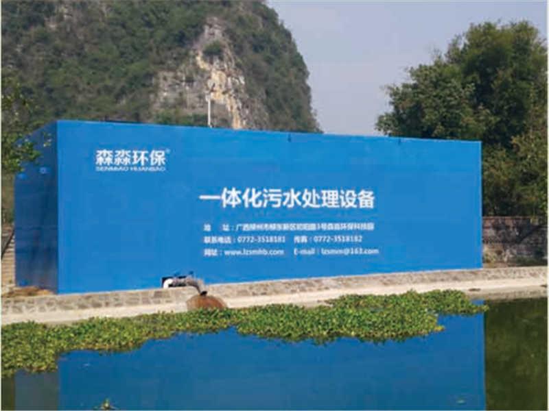 广西耐用的广西乡镇生活污水处理设施哪里有供应-来宾乡镇学校生活污水处理装置