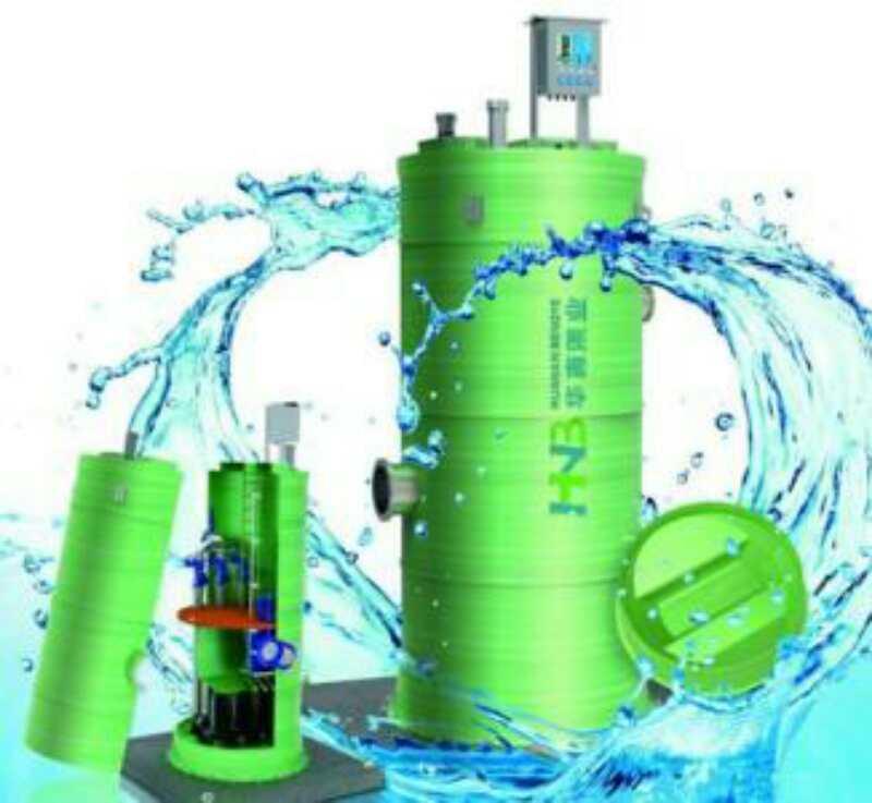 玻璃钢一体化预制泵站安装-晟基提供专业的玻璃钢一体化预制泵站