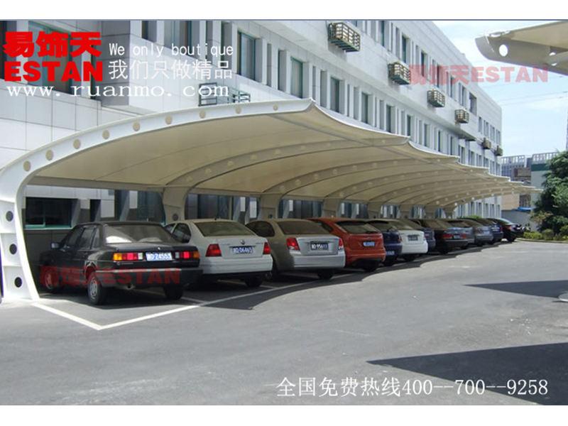 膜结构哪里买 知名的膜结构供应商就是易饰天软膜拉蓬技术