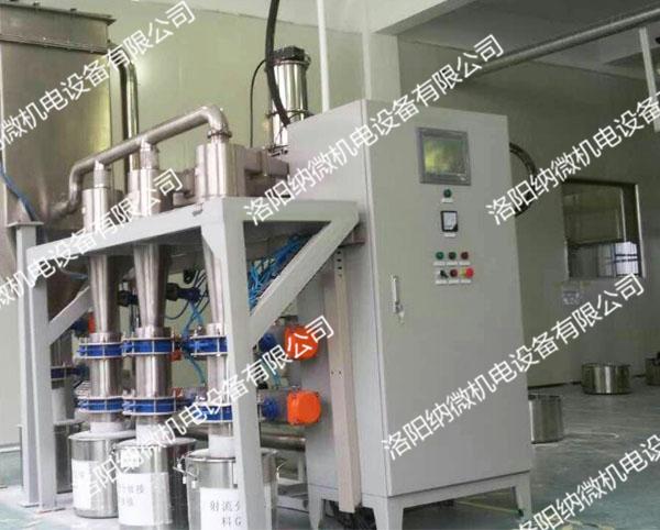 射流分级,射流分级机,精密射流分级机,洛阳纳微机电