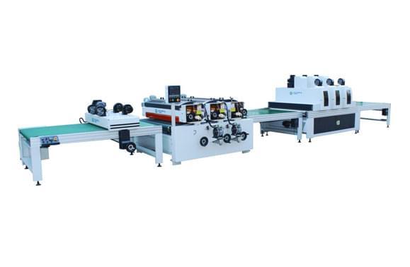 橱柜板UV滚涂生产线厂家|卡尔弗机械批发滚涂生产线