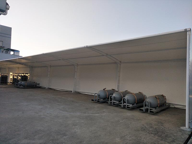 安徽膜结构车篷厂家-上海有信誉度的膜结构车棚生产厂家推荐