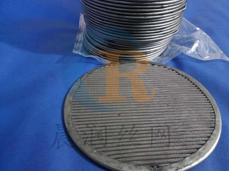 过滤片厂家-晨润丝网制品提供良好的包边波浪网片