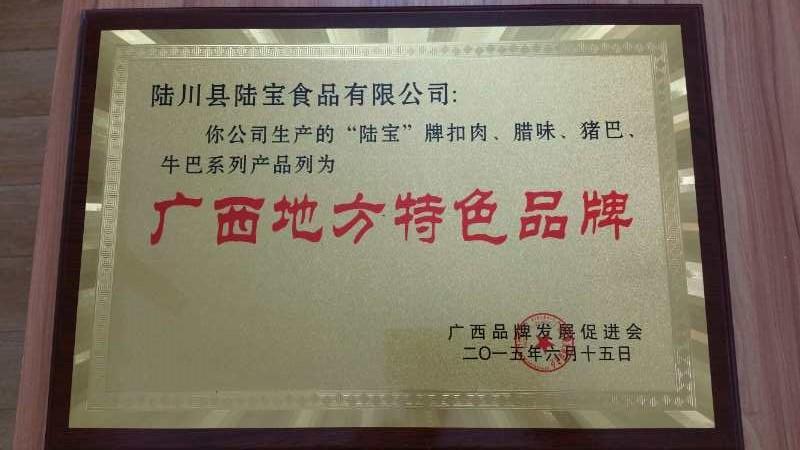 陆川土猪供销-采购高性价广西玉林特产零食牛肉脯 陆宝牛巴152g就找陆宝食品
