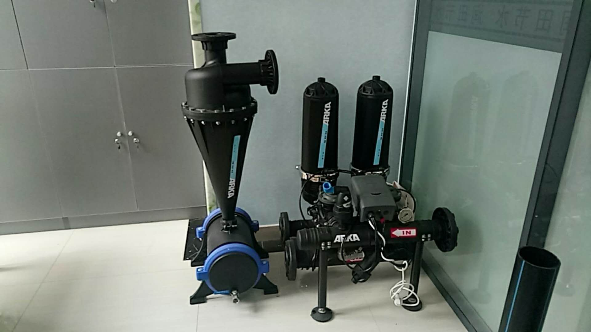 河北润田节水设备叠片过滤器供货商 叠片过滤器加工精度