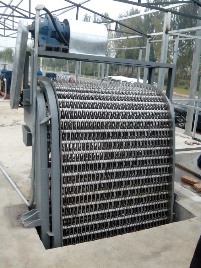回转式清污机图片-质量良好的回转式格栅清污机宏海水利供应