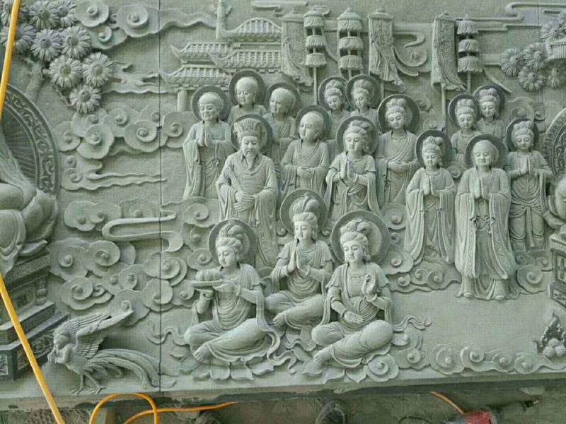 甘肃石亭-精雕细琢的壁画