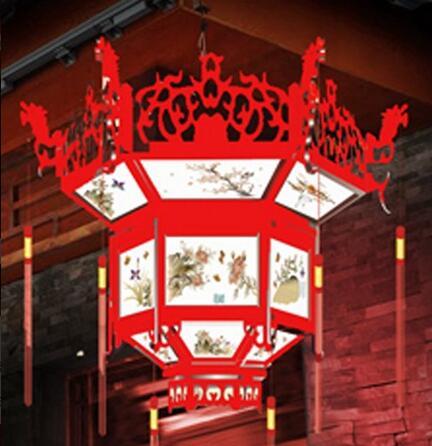 彩灯厂家-新民万胜彩灯厂出售的传统宫灯怎么样