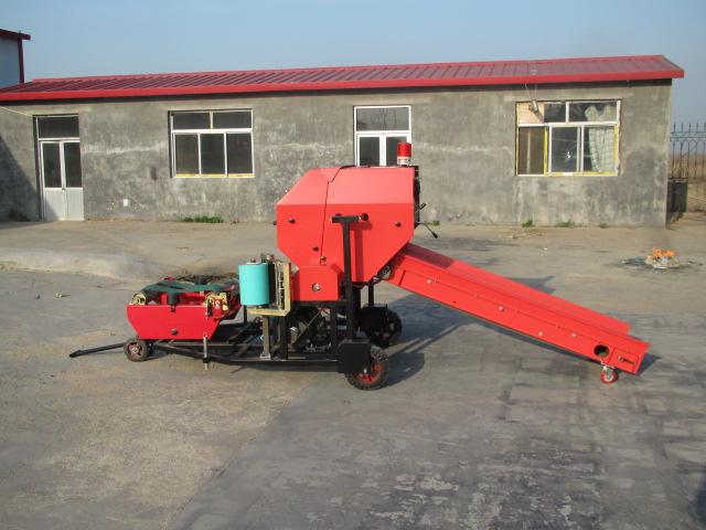 德瑞农牧机械有限公司全自动青贮打捆包膜一体机价钱怎么样|高质量的青贮打捆包膜一体机