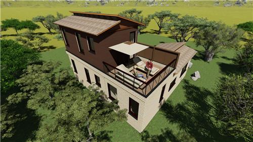 优良钢结构别墅专业设计制造-厦门钢结构别墅造价