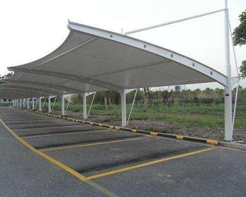 鄭州膜結構車棚廠家|鄭州哪里有供應品質好的膜結構車棚