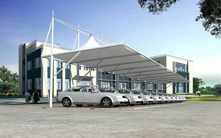 河南膜结构车棚厂家-哪里能买到物超所值的膜结构车棚