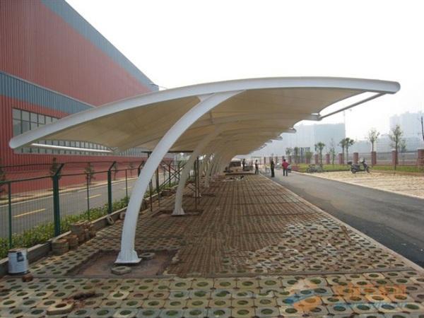 品质优良的膜结构车棚推荐,河北膜结构停车棚