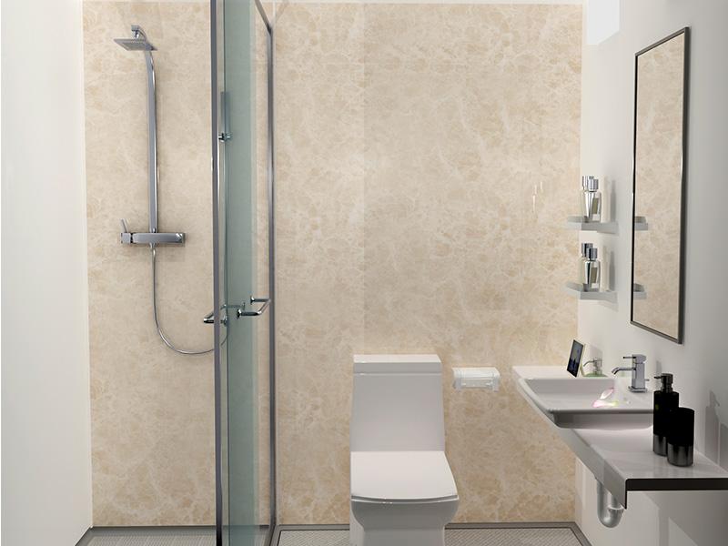 朴素的整体浴室-品质好的整体卫生间供应