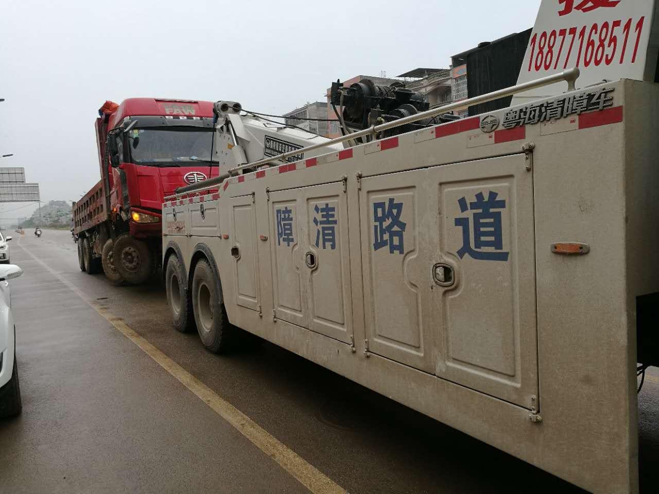 南宁24小时拖车救援服务