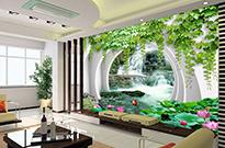 柳州无缝3D墙布-信誉好的无缝3D墙布经销商