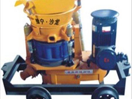 生产混凝土的机器厂家-焦作宇洲机械耐用的矿用混凝土喷射机出售