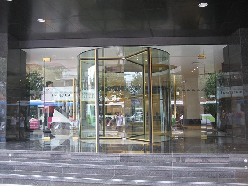 两翼自动水晶旋转门定制 价位合理的水晶旋转门ag娱乐场注册 官方信息