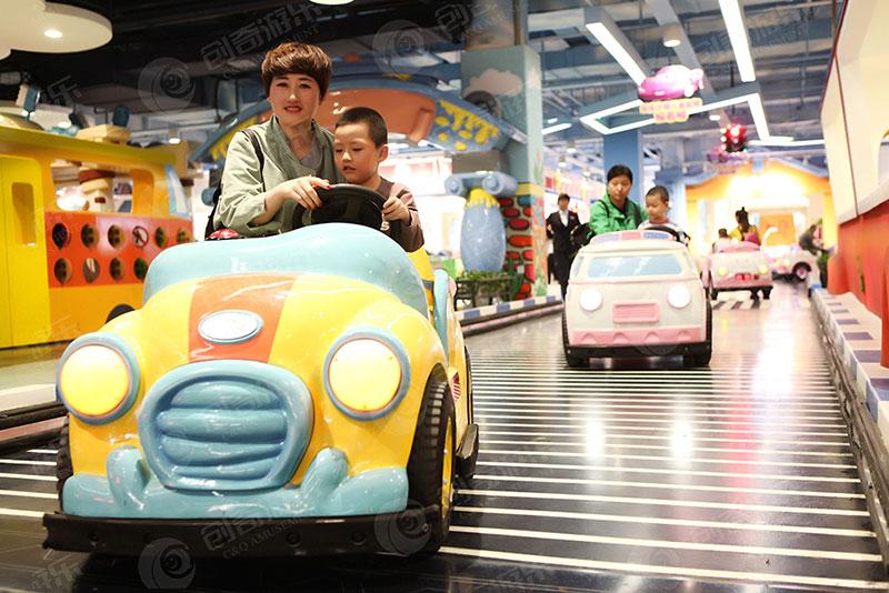 汽车小镇一种全新的儿童体验业态