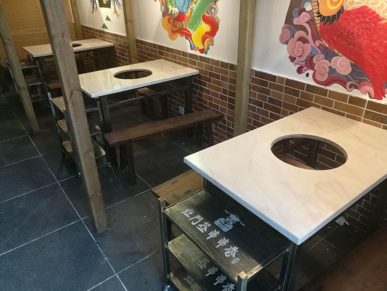 有品质的泉州火锅桌推荐给你 -大理石火锅桌独具创意