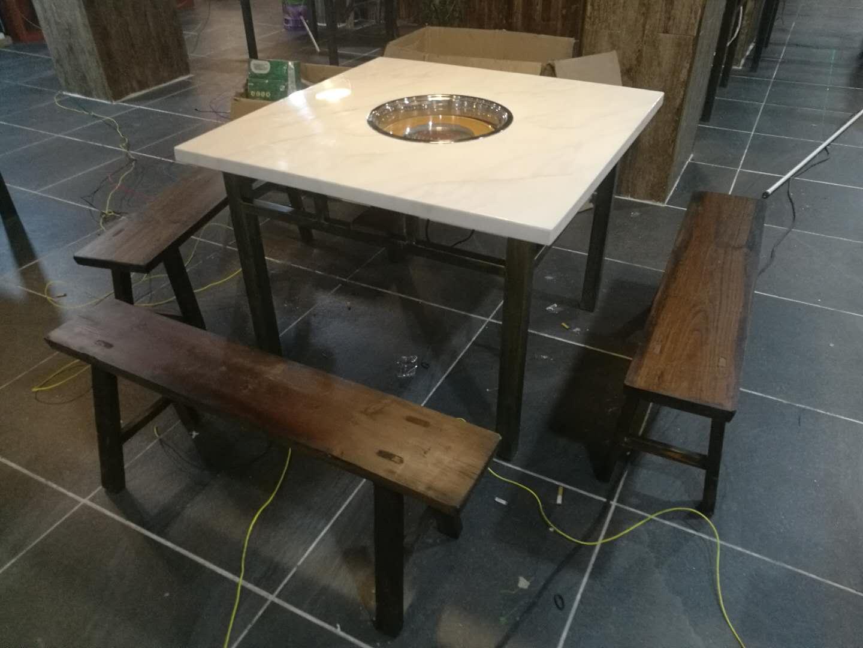 买优良的泉州电动火锅桌来良美家私,批售泉州电动餐桌