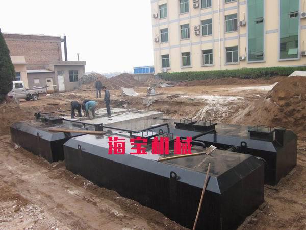 海宝环保供应上等一体化污水处理设备——一体化污水处理设备工艺