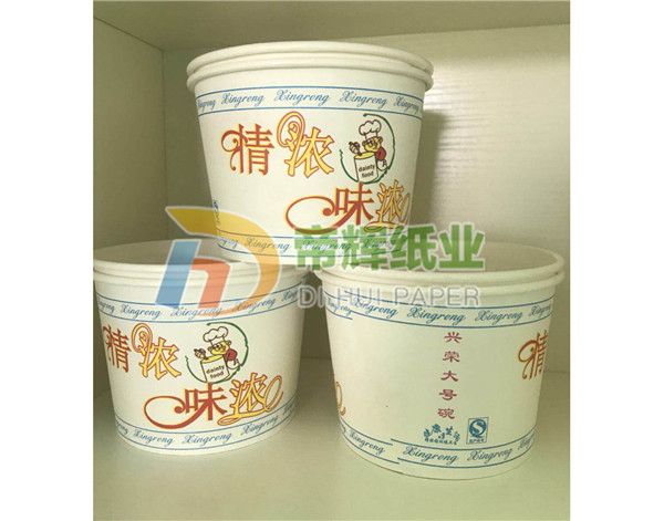 广西纸碗,一次性加厚纸碗制作