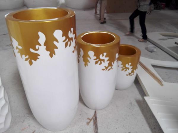 北京价格实惠的玻璃钢花盆组合哪里有供应-优惠的玻璃钢花盆组合