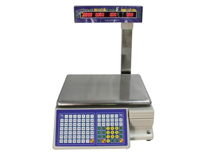 條碼電子秤-拓步優科技供應性價比高的條碼秤