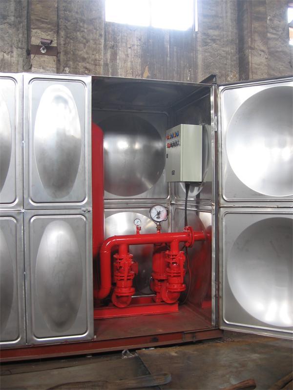 安全的箱式消防一體化設備-想買口碑好的消防一體化設備,就來無錫創杰