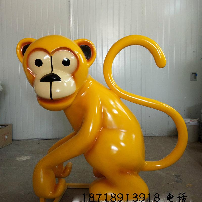 广州哪里可以做玻璃钢卡通动物 卡通动漫雕塑