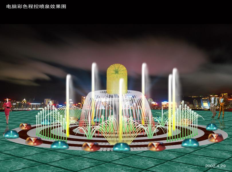 兰州喷泉工程|兰州喷泉水景|兰州音乐喷泉安装|甘肃喷泉设计