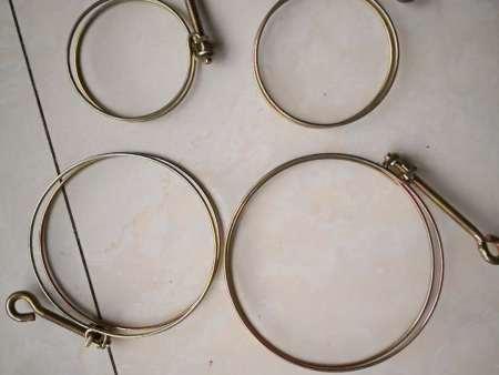 山东双钢丝喉箍|供应潍坊不错的喷灌带配件