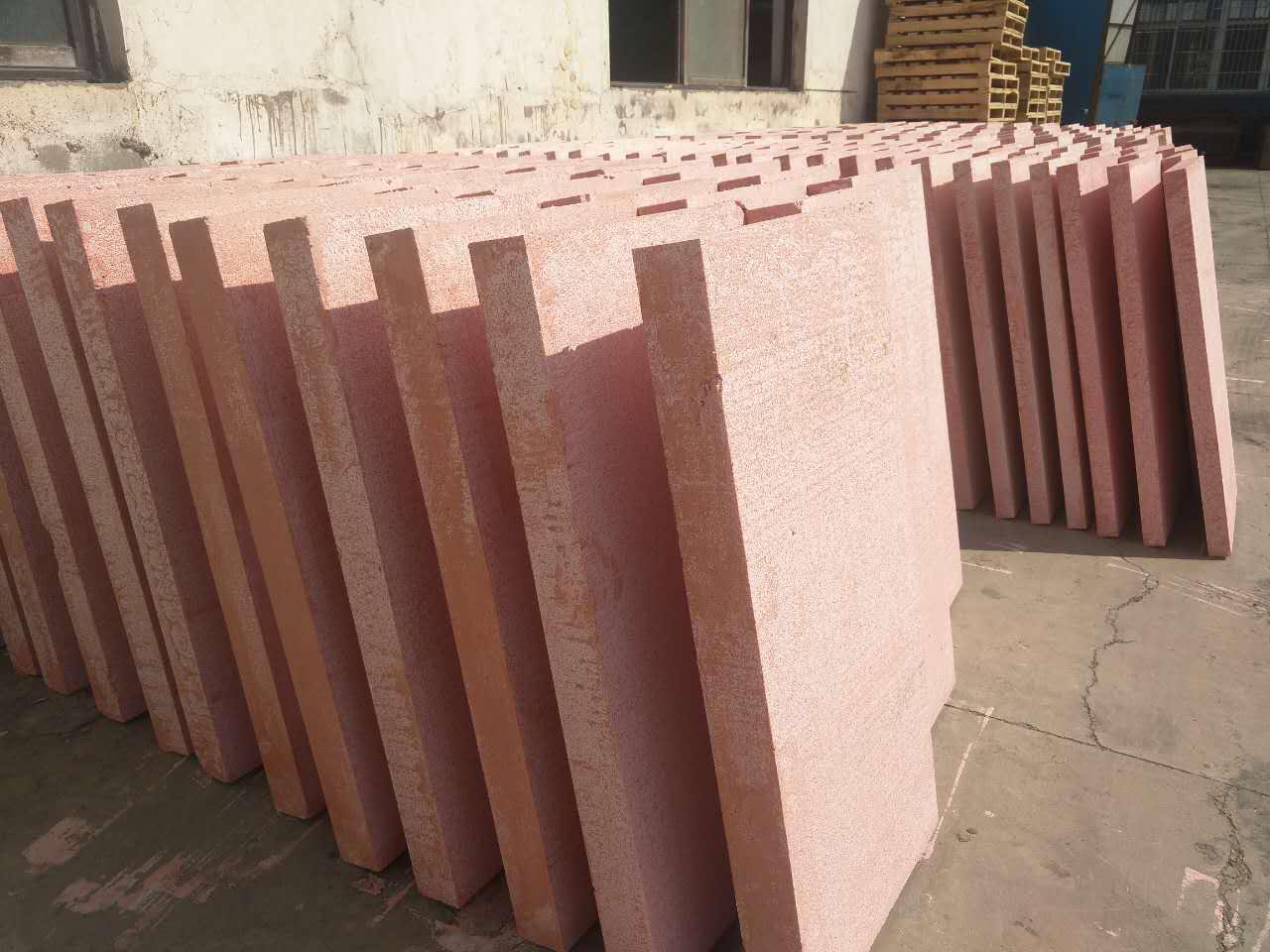 寧夏A級保溫板|銀川保溫板|寧夏改性聚苯板賀蘭縣綠環苯板保溫