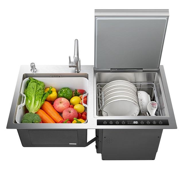 水槽式洗碗机多少钱一台|口碑好的水槽洗碗机厂家信息