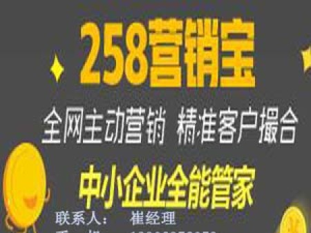 冠县258营销宝代理商_山东哪里有供应口碑好的258营销宝