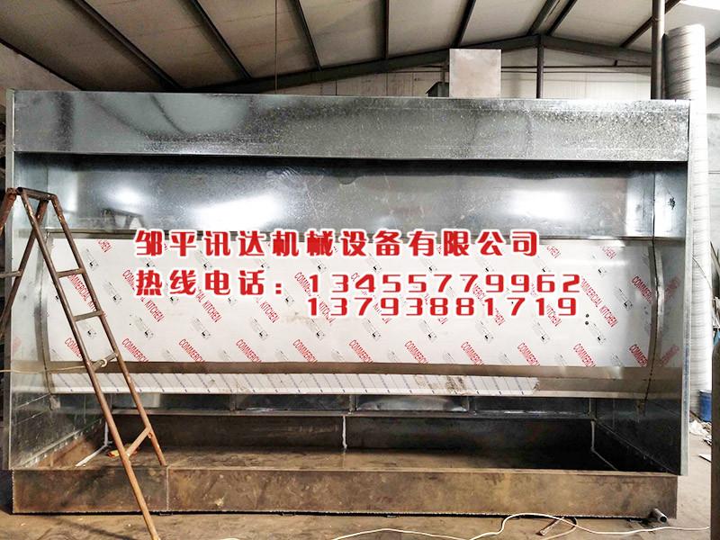 水帘喷漆房供应 滨州品牌好的水帘机厂商