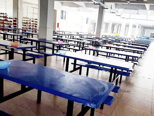 【荐】高质量的食堂餐桌椅供销,玻璃钢六人位餐桌