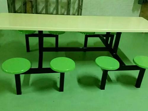 玻璃钢六人位餐桌-力荐升华家具销量好的食堂餐桌椅