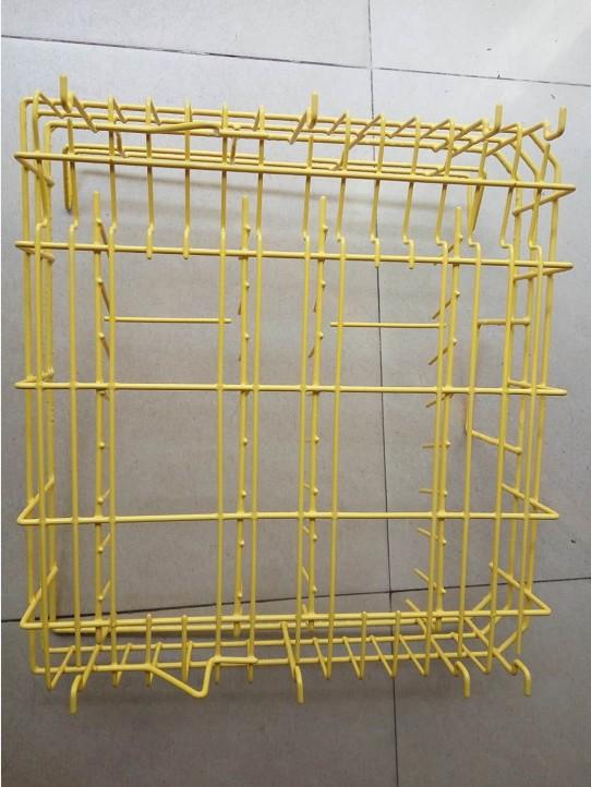 铁线件浸塑尼龙、PE料框