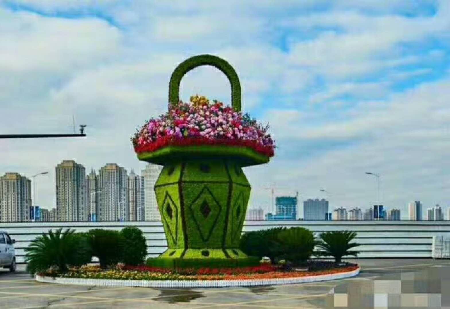 江苏哪家提供立体花坛造型公司可靠,立体花坛多少钱