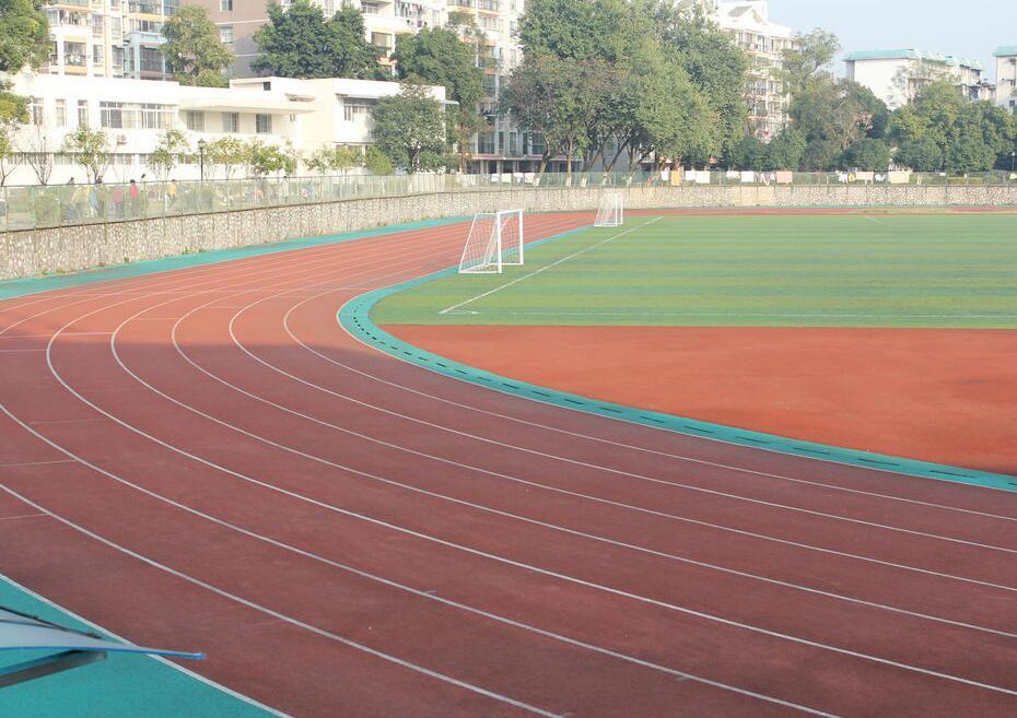 重慶領凡體育設施供應合格的四川貴州塑膠球場公司_塑膠球場