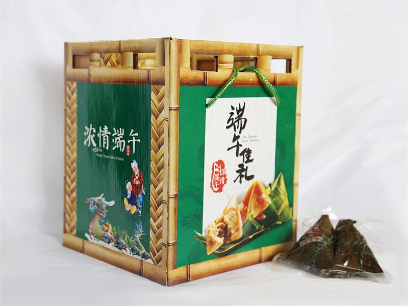 潍坊哪里有粽子礼盒供应|临朐粽子代加工