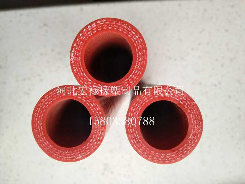 厂家销售红色硅胶管质量保证量大价优好用的红色硅胶管宏禄供应