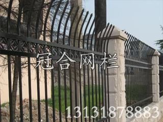 供应钢钢护栏网——划算的围墙铁艺栅栏推荐