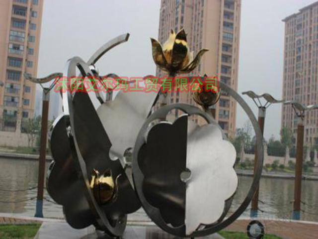 江苏可靠的提供不锈钢雕塑公司公司-不锈钢造型