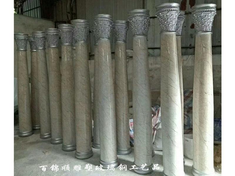 百锦顺雕塑_专业仿大理石罗马柱雕塑供应商 优质仿大理石雕塑定做