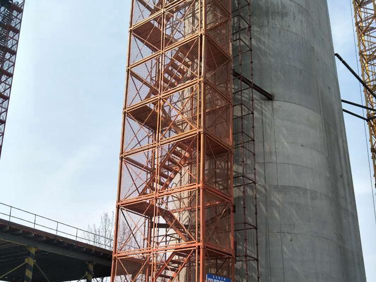 买好的桥梁施工安全爬梯就来亿诚建材——北京安全爬梯